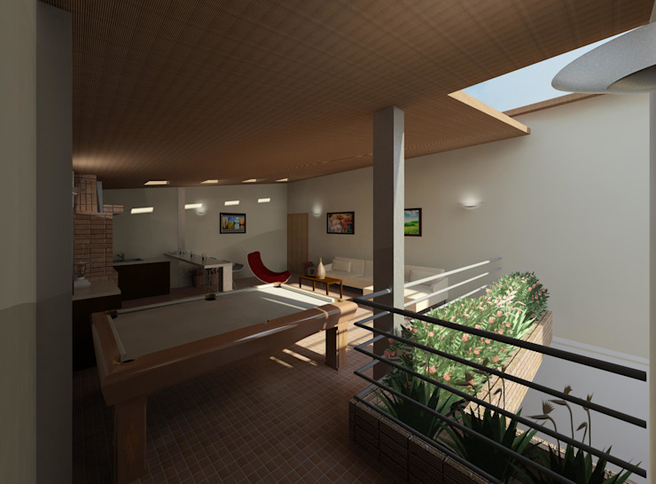Diseño de área recreacional Salas de estilo moderno de Diseño Store Moderno