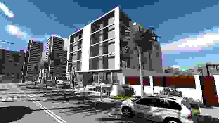 Hotel por Gabinete de arquitetura 3D
