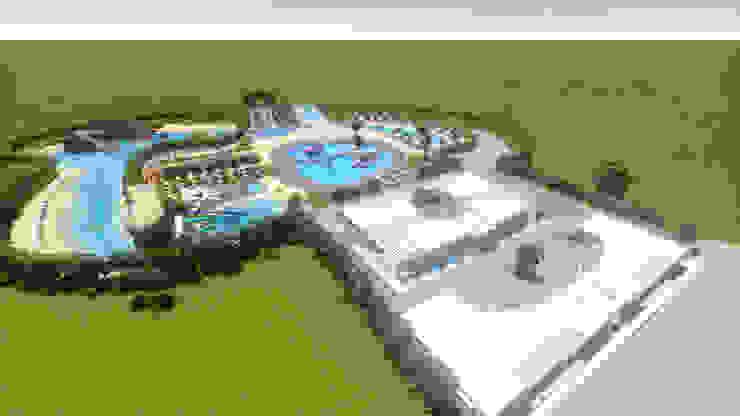 Projeto AQUAPARQUE por Gabinete de arquitetura 3D