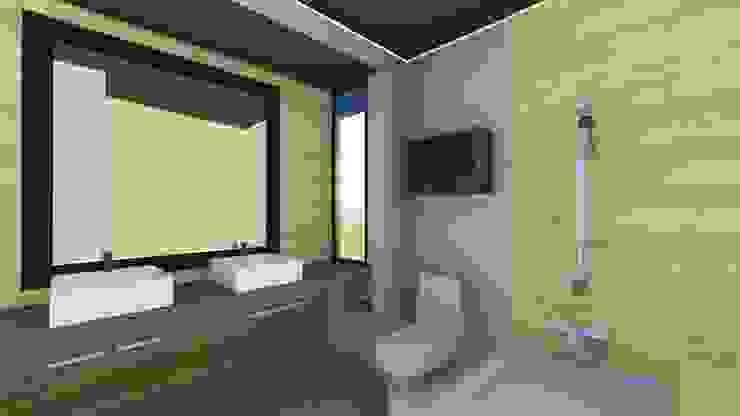 Modern Bathroom by ESTUDIO VIDA Modern