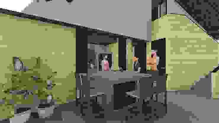 Modern Dining Room by ESTUDIO VIDA Modern