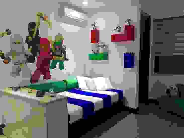 غرفة الاطفال تنفيذ ea interiorismo, حداثي