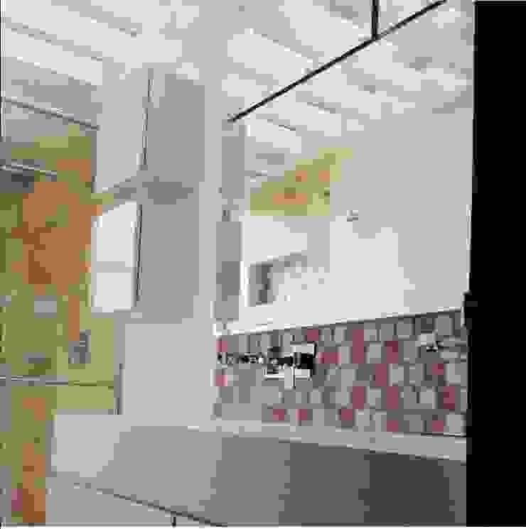 ea interiorismo Salle de bain moderne Quartz Blanc