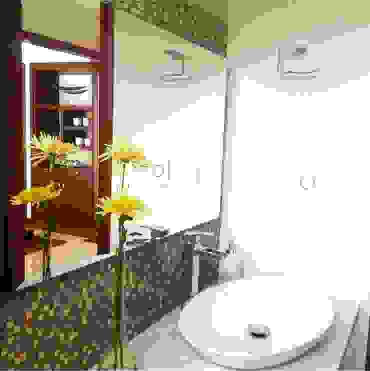 ea interiorismo Salle de bain moderne Quartz Beige