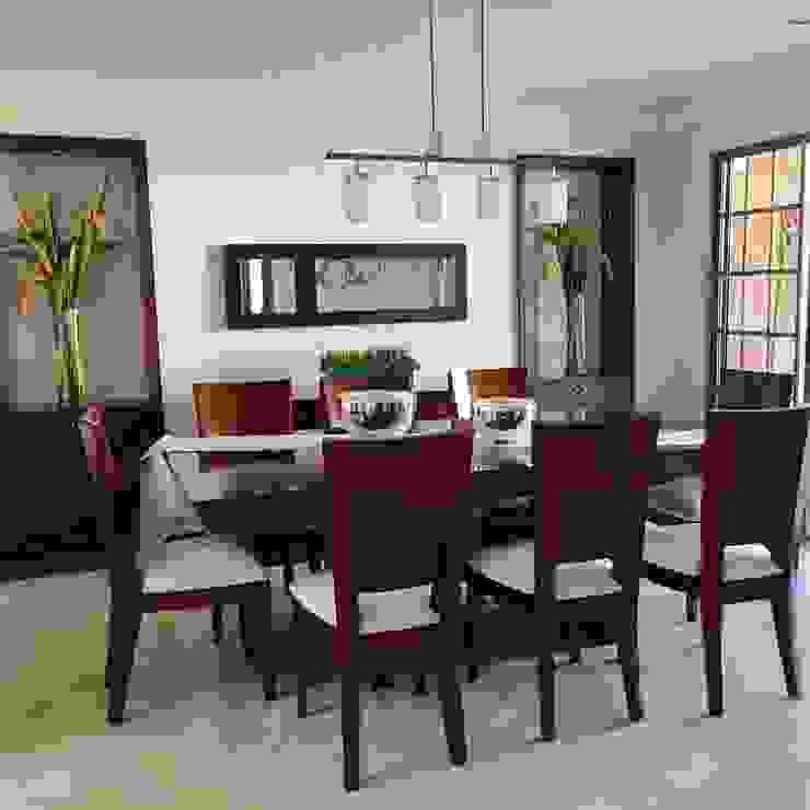 Comedor Casa en la Ciudad Comedores de estilo clásico de ea interiorismo Clásico Madera Acabado en madera