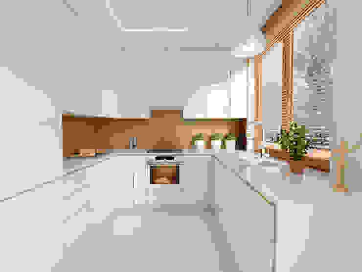 Cocinas de estilo escandinavo de MS Studio Design Escandinavo