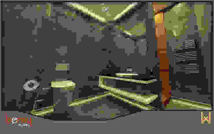 Genel Banyo Modern Banyo W DESIGN İÇ MİMARLIK Modern Seramik