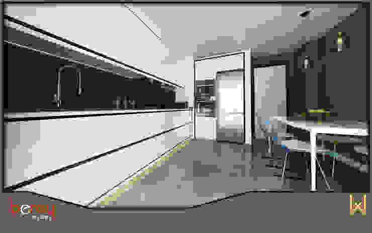 W DESIGN İÇ MİMARLIK Kitchen Wood White