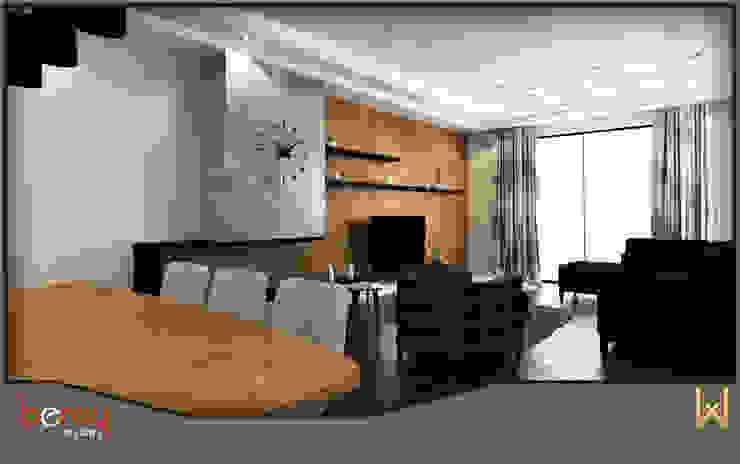 Oturma Odası Modern Oturma Odası W DESIGN İÇ MİMARLIK Modern Ahşap Ahşap rengi
