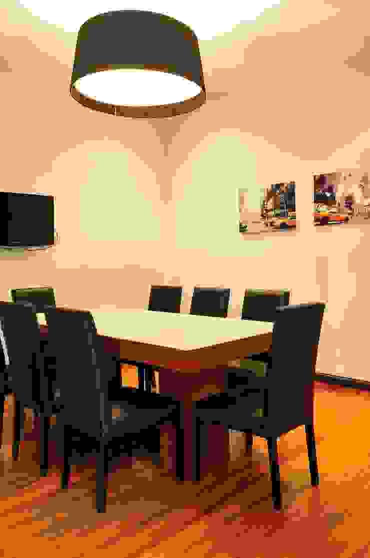 Sala comedor Minimalistische Esszimmer von Radrizzani Rioja Arquitectos Minimalistisch Holz Holznachbildung