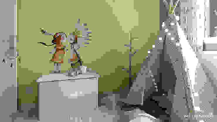Chambre d'une petite sioux ! Chambre d'enfant originale par MJ Intérieurs Éclectique