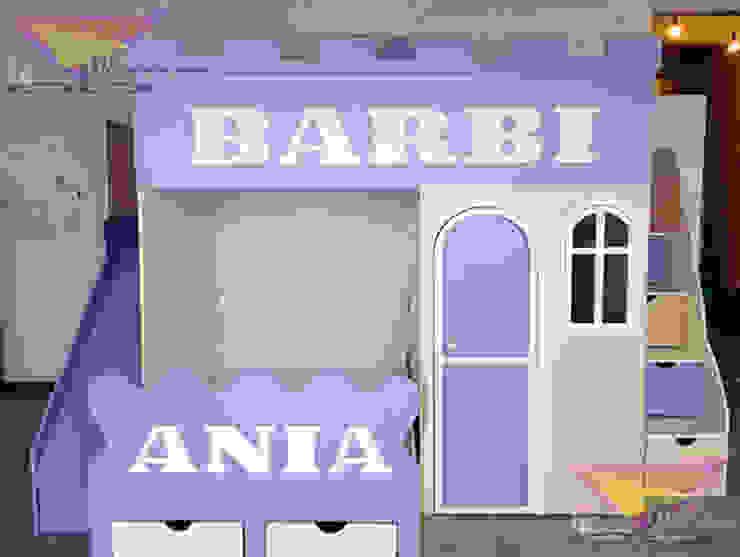Divertida y original Litera para niñas de camas y literas infantiles kids world Clásico Compuestos de madera y plástico
