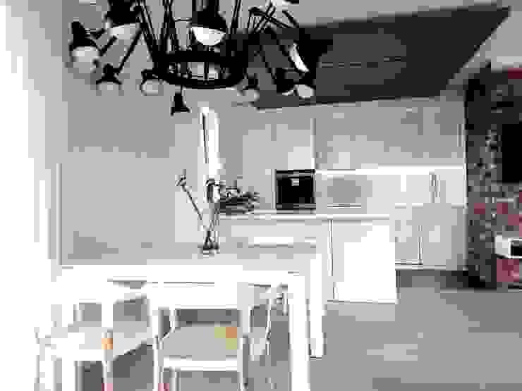 Cuisine minimaliste par MINIMOO Architektura Wnętrz Minimaliste