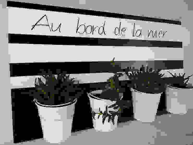 jardin d'intérieur - Au bord de la mer par homify Éclectique Bois Effet bois