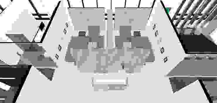 법무법인 대륙아주 강남오피스 리모델링 모던스타일 서재 / 사무실 by Architects H2L 모던