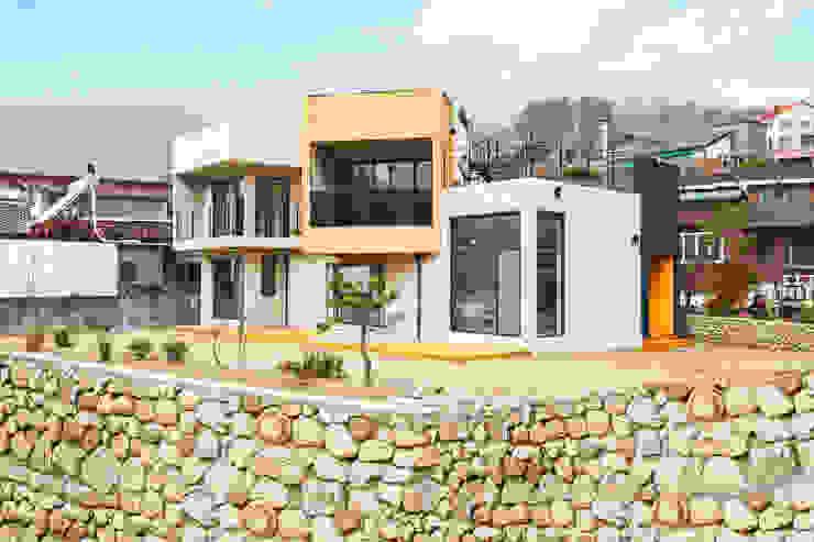 우리가족에게 전원주택이란,: 한글주택(주)의  주택,모던
