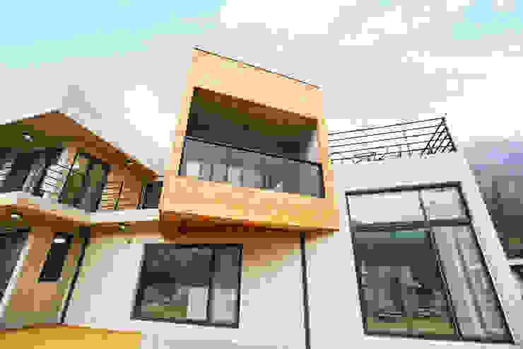 우리가족에게 전원주택이란, 모던스타일 주택 by 한글주택(주) 모던