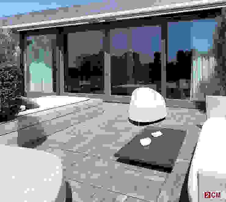 Teras Seramik Eklektik Balkon, Veranda & Teras Plaza Yapı Malzemeleri Eklektik