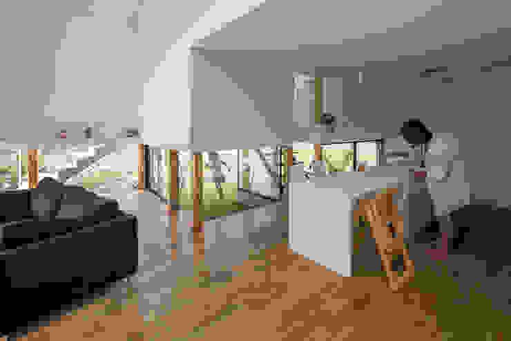 KAWATE モダンデザインの リビング の 武藤圭太郎建築設計事務所 モダン