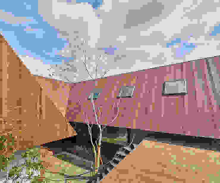 SHIMA: 武藤圭太郎建築設計事務所が手掛けた庭です。,モダン