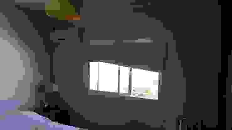 Estado actual del Duplex Paredes y pisos minimalistas de ER Design. @eugeriveraERdesign Minimalista