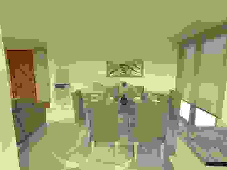 Duplex – Altos del Suquía Comedores minimalistas de ER Design. @eugeriveraERdesign Minimalista