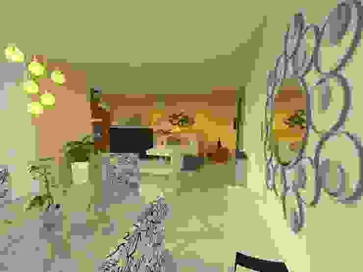 Duplex - Altos del Suquía: Comedores de estilo  por ER Design.    @eugeriveraERdesign,Minimalista