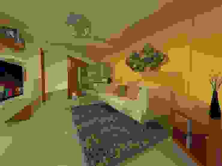 Duplex - Altos del Suquía: Livings de estilo  por ER Design.    @eugeriveraERdesign,Minimalista