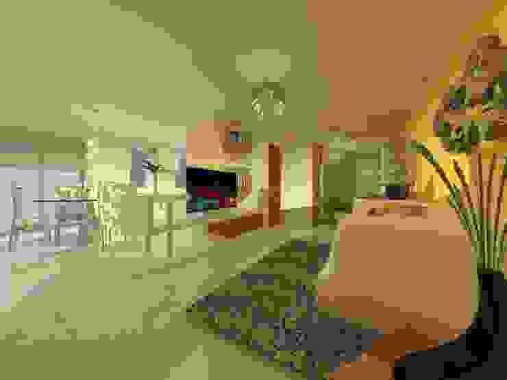 Duplex – Altos del Suquía Salones minimalistas de ER Design. @eugeriveraERdesign Minimalista