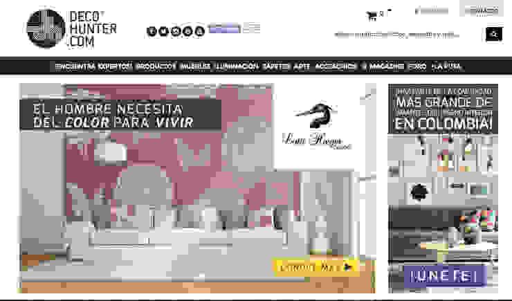 Decohunter.com Salas de estilo ecléctico de Decohunter.com Ecléctico