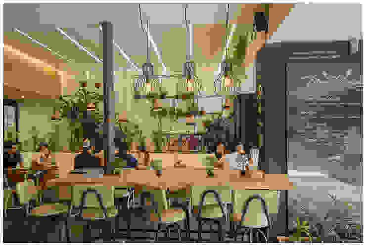 Reforma Reposteria Como Pez en el Agua de interior137 arquitectos Moderno