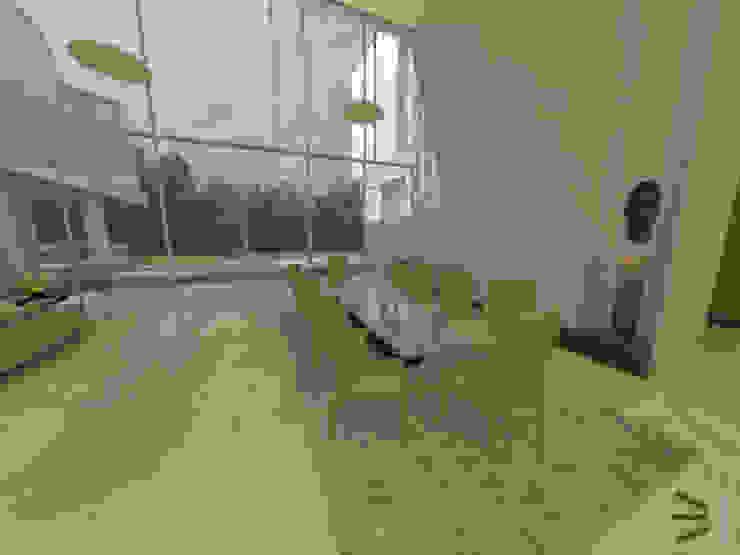 Comedor de Tres en uno design Moderno