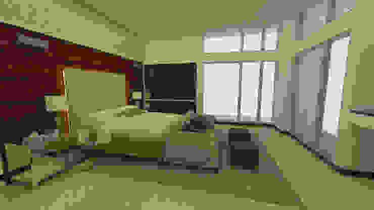 Habitación Principal de Tres en uno design Clásico