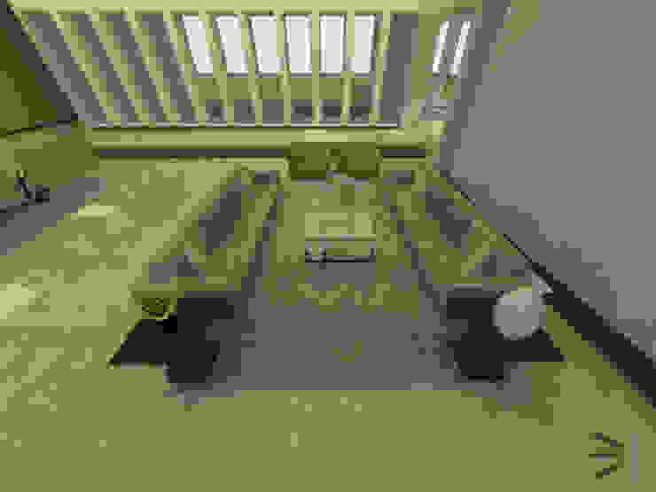 Sala principal de Tres en uno design Moderno