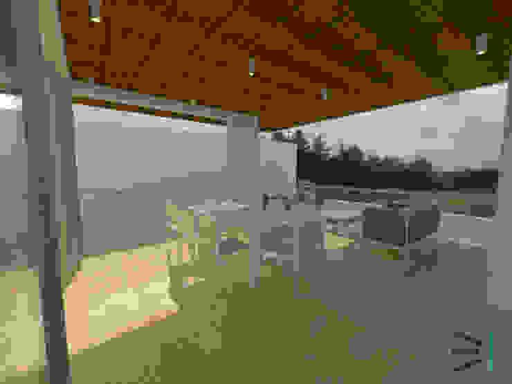 Terraza de Tres en uno design Moderno
