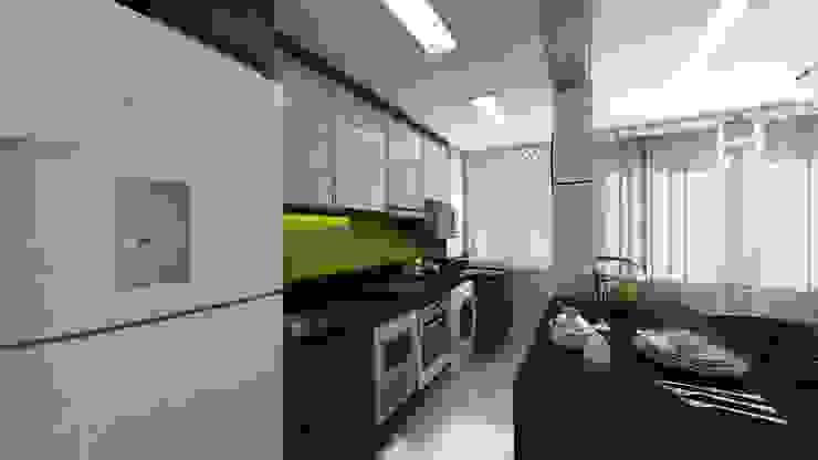 Cocinas de estilo moderno de Débora Pagani Arquitetura de Interiores Moderno