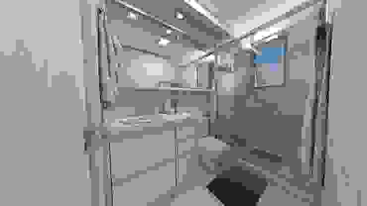 Débora Pagani Arquitetura de Interiores 모던스타일 욕실