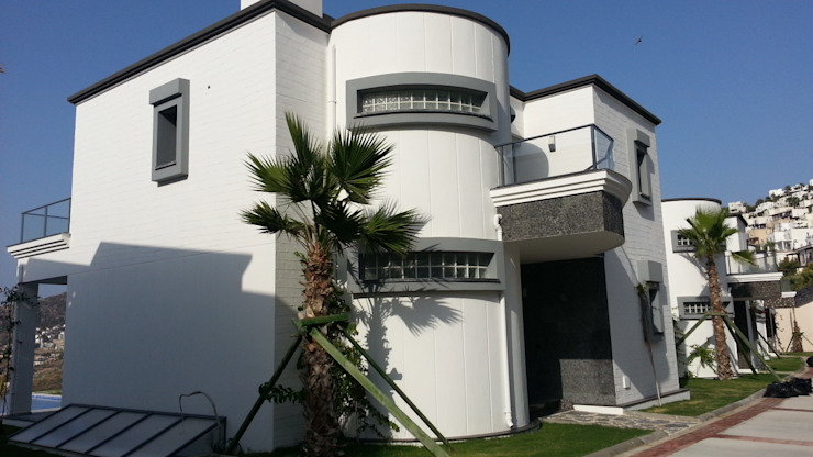 Дома в стиле модерн от SAYTAS SABUNCUOGLU YAPI VE TIC.LTD.STI. Модерн