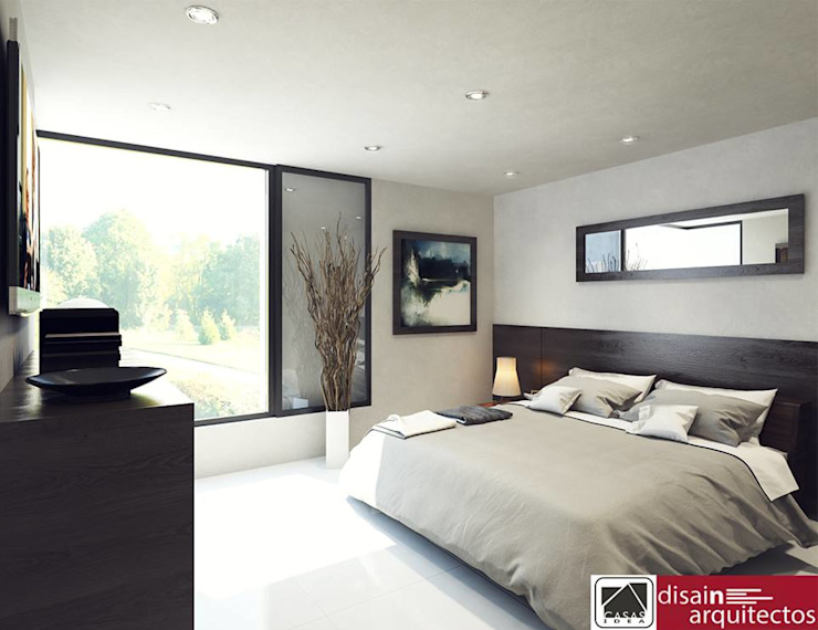 Modern style bedroom by homify Modern Tiles
