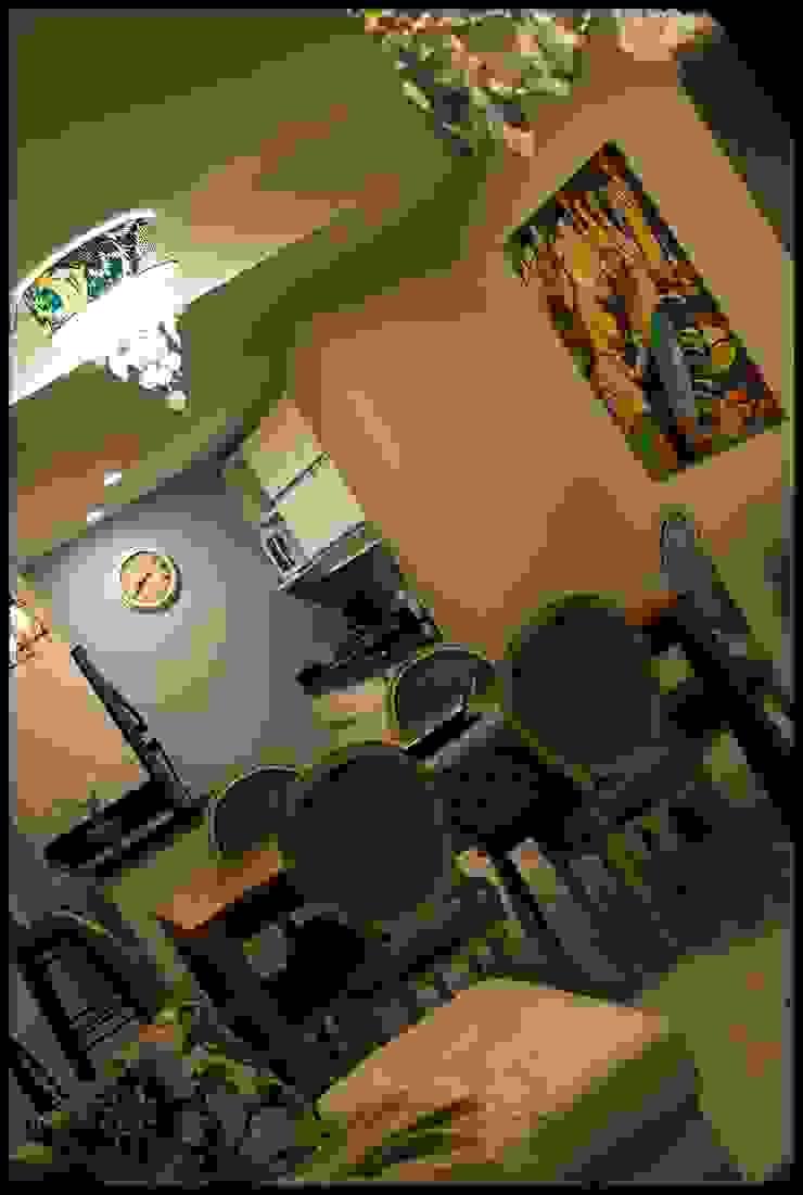Столовая комната в эклектичном стиле от Diseñadora Lucia Casanova Эклектичный