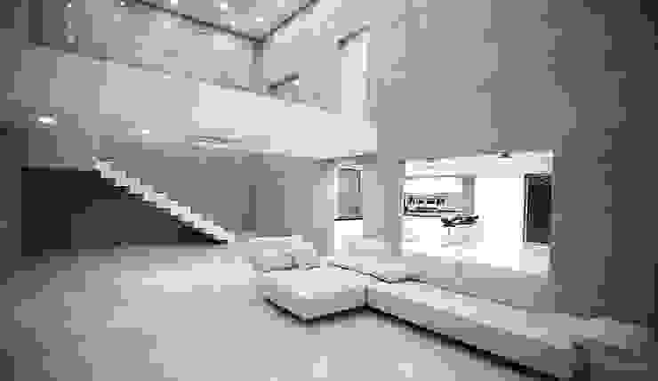 내부 인테리어 - 거실: 엔디하임 - ndhaim의  거실,모던