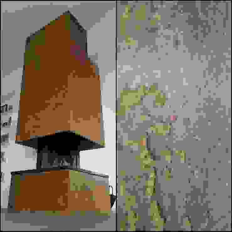 cortenstaal imitatie / rust van Wicked Walls Industrieel IJzer / Staal