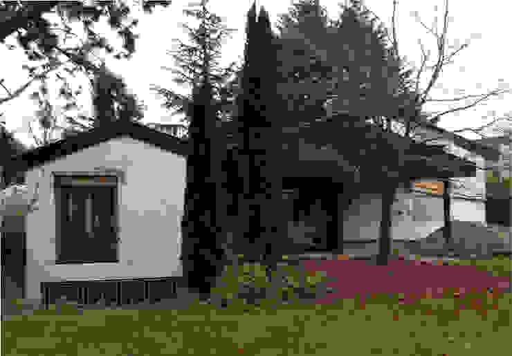 Ansicht Gartenseite vorher von ZHAC / Zweering Helmus Architektur+Consulting