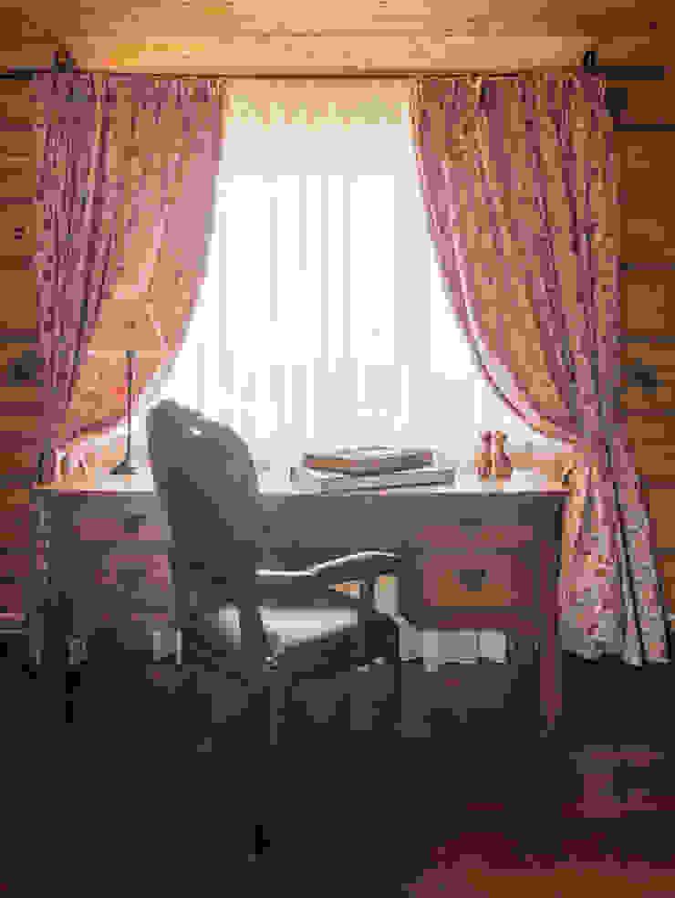 Русское кантри Рабочий кабинет в стиле кантри от Анастасия Муравьева Кантри