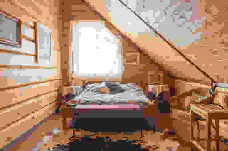 Русское кантри Спальня в стиле кантри от Анастасия Муравьева Кантри