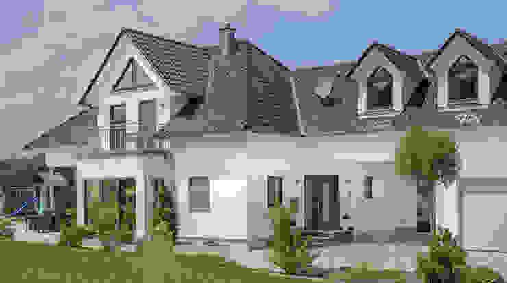 individuell geplante Stadtvilla Moderne Häuser von homify Modern