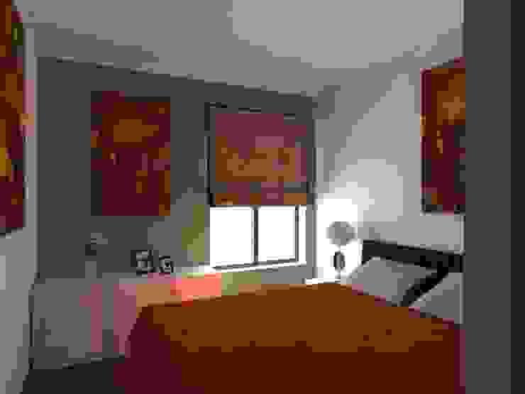 Remodelação de Apartamento em Almada Quartos modernos por Projectos Arquitectura & 3D Moderno