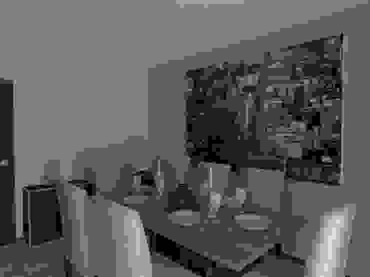 Remodelação de Apartamento em Almada Salas de jantar modernas por Projectos Arquitectura & 3D Moderno