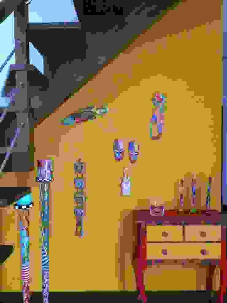 Unlocked Corredores, halls e escadas campestres por Unlocked by Dulce Alves Campestre