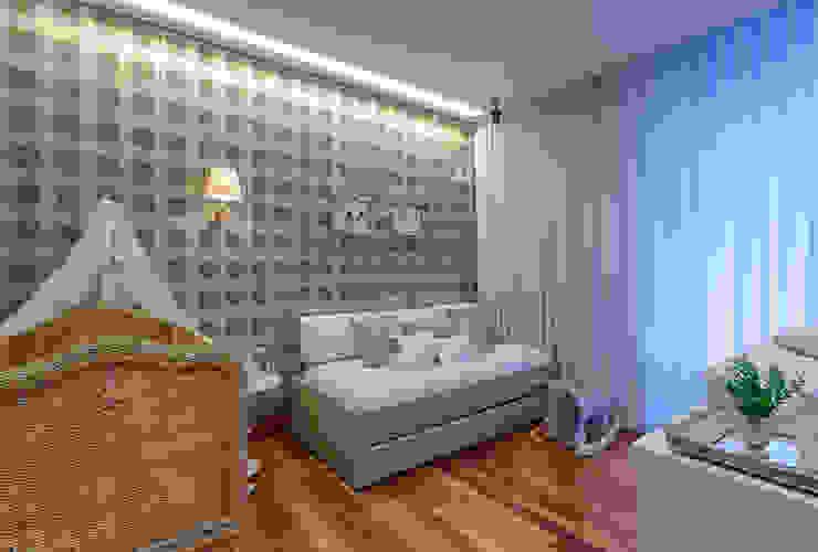 Vila Alpina II Quarto infantil moderno por Bruna Figueiredo Arquitetura e Interiores Moderno